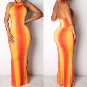 🆕 ➳ Sunset Lightweight Maxi Dress